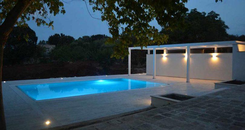 Realizzazione piscina a sfioro