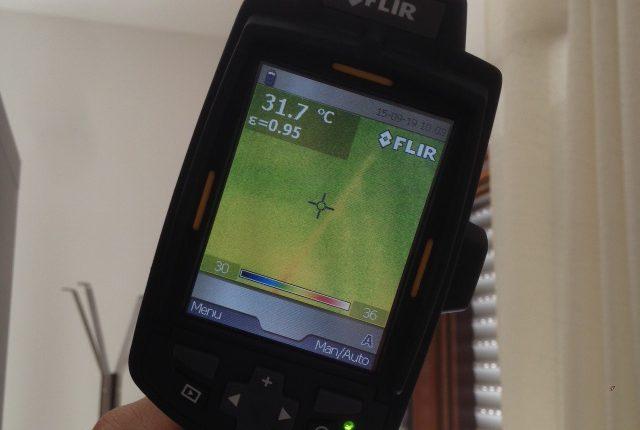 Servizio di analisi energetica e termografica dell'involucro edilizio